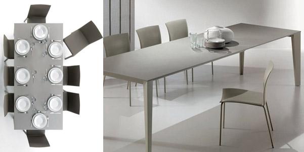 Tavolo Cruz di Bontempi | DesignBuzz.it
