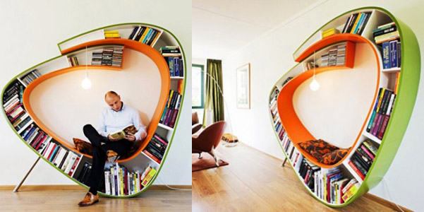 Libreria Bookworm | DesignBuzz.it