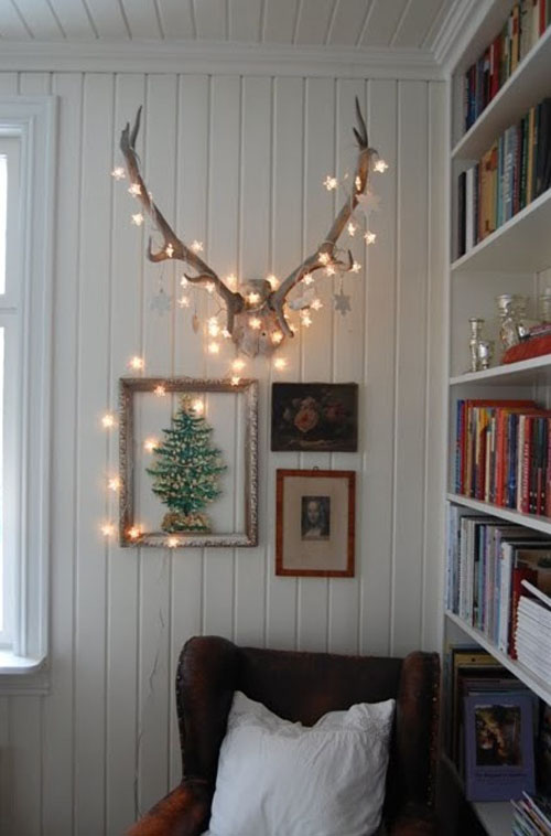 Idee decor luci natalizie - Luci decorative ...