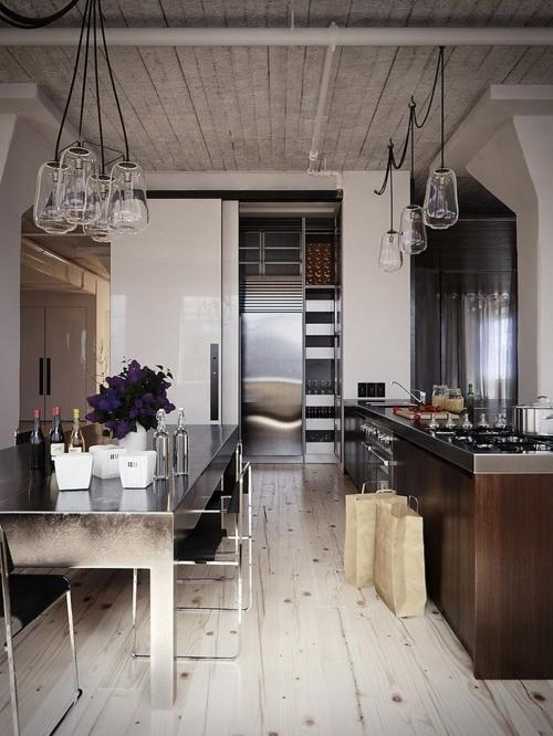 Idee illuminazione cucina-20 | DesignBuzz.it