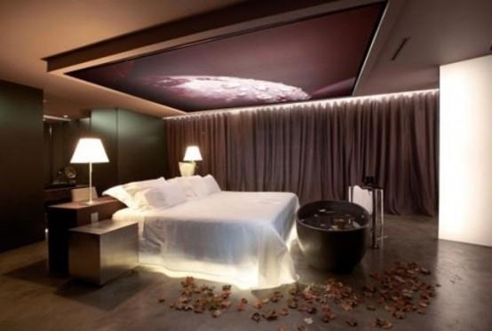 Idee per illuminare la camera da letto - Luce per camera da letto ...