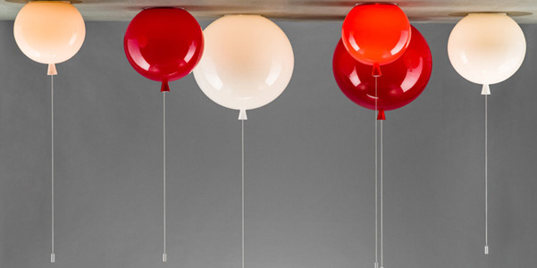 Lampade palloncino di boris klimek - Lampade bambini design ...
