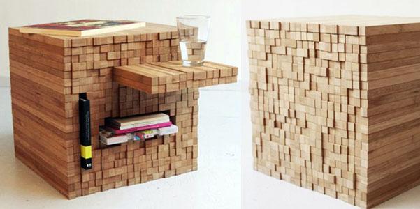 Pixel table