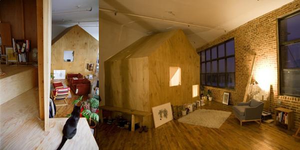 Cabin in un loft