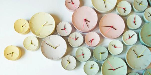 Orologi porcellana Femke Roefs