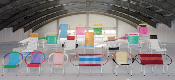 100 chairs Marni