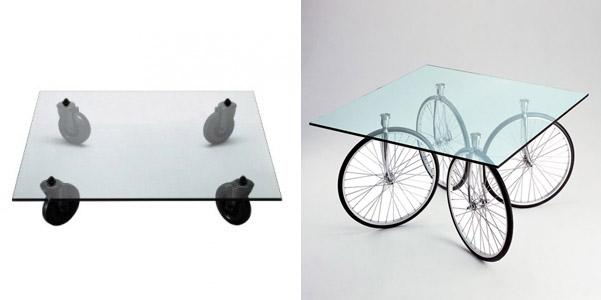 Tavolino Con Ruote Di Gae Aulenti.Tavolino Con Ruote Di Gae Aulenti