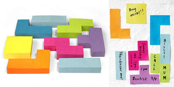 tetris-sticky-notes