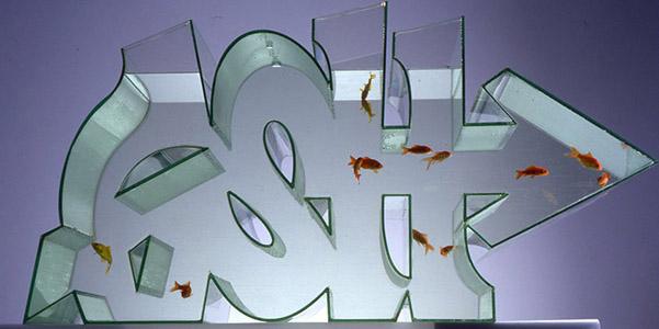 Acquario graffiti Zeus