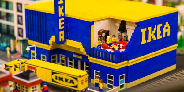 L 39 ikea di mattoncini for Lego arredamento