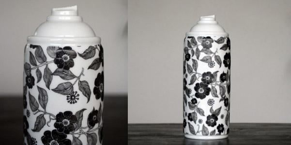 Spray Paint Porcelain