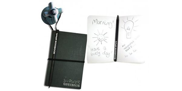 Shower Notebook