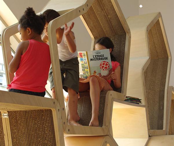 Libreria bambini Malo Mangin