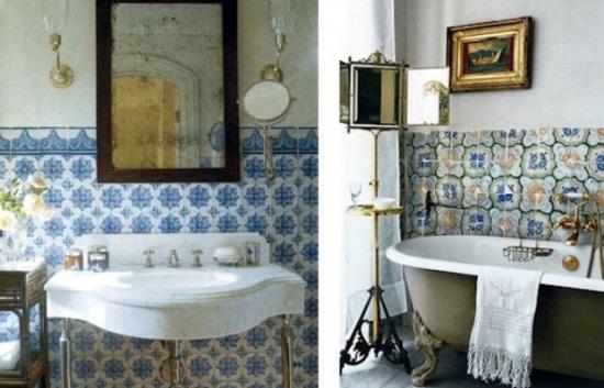 Idee decor ispirazione marocco - Arredo bagno stile etnico ...