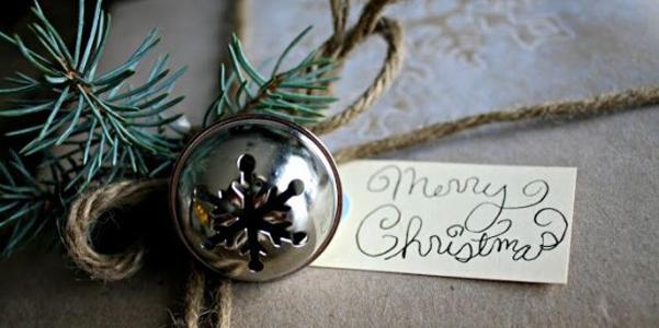 Idee decor Natale campanelle