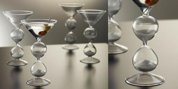 bicchieri Martini clessidra