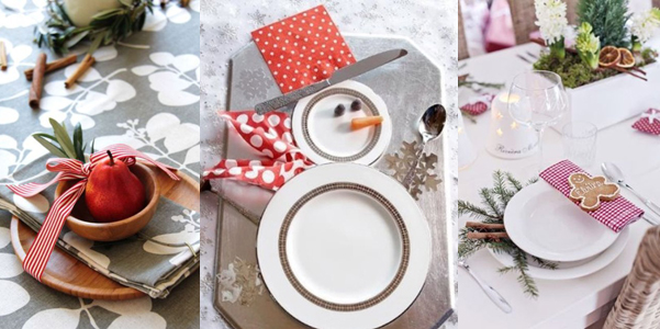 Idee per la tavola di natale - Addobbare la tavola per natale ...