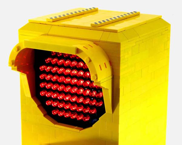 lampada Lego