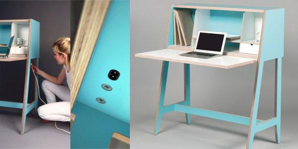 Cabinet desk