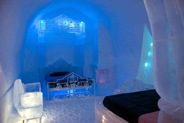 Frozen hotel ghiaccio