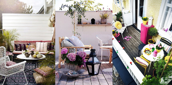 Idee decor: arredare un piccolo balcone | DesignBuzz.it