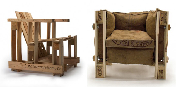Le Corbusier chair riciclata | DesignBuzz.it
