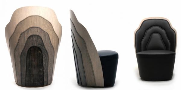 Wood Layer Armchair