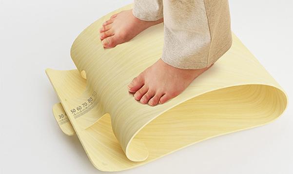 bilancia bamboo scale