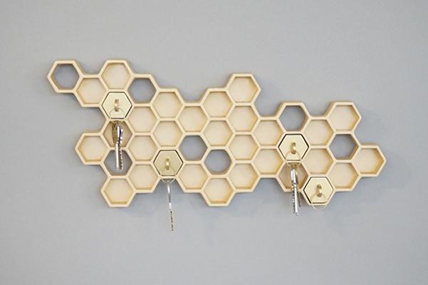 portachiavi Honeycomb_2