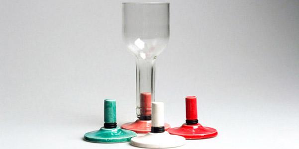 Bicchiere vino bottiglia