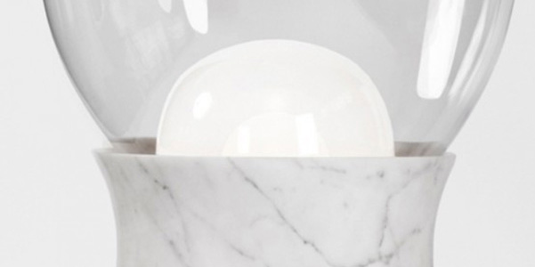 Lampada marmo Dan Yeffet