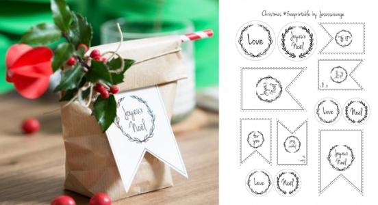 Etichette Per Regali Di Natale Da Stampare.Etichette Natalizie Da Stampare Gratis Designbuzz It
