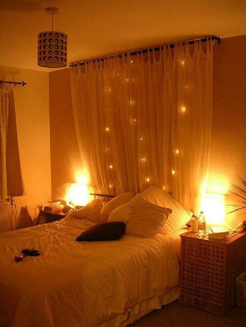 Come usare le lucine di natale in camera da letto for Luci natale ikea