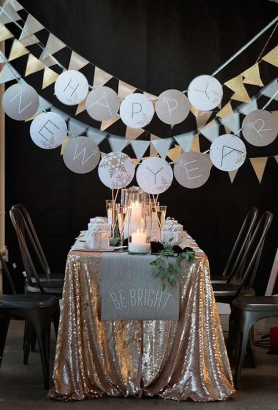 Idee decorazioni addobbi per la festa di fine anno for Idee capodanno