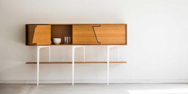 Mobile da soggiorno Neus di Jo-a in stile vintage | DesignBuzz.it