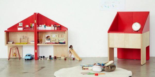 Casa di bambola di legno che diventa sedia - Casa delle bambole in legno ikea ...