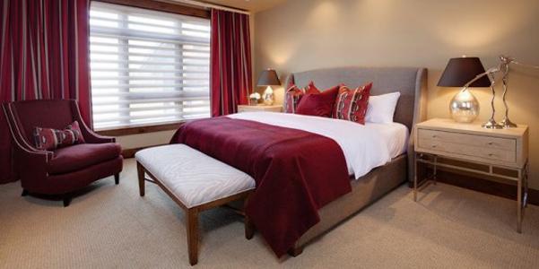 Colore dellanno 2015: Marsala in camera da letto  DesignBuzz.it