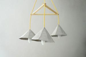 Lampade in carta riciclata creare design designbuzz