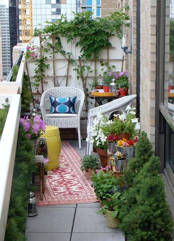 Come arredare balcone piccolo 06 for Arredare balcone piccolo
