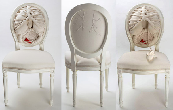 anatomie chaise