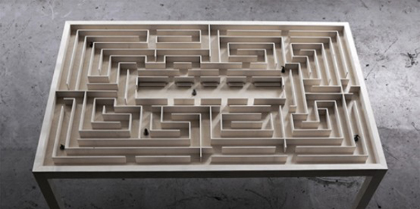 labyrinth table