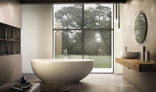 Vasche da bagno freestanding jacuzzi for Vasche da bagno doppie