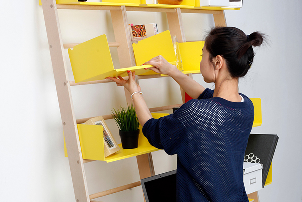 mini libreria modulare