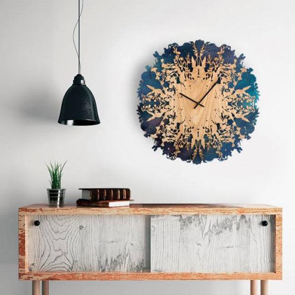 Orologio da parete botanico di Svetlana MikhailovaOrologio da ...