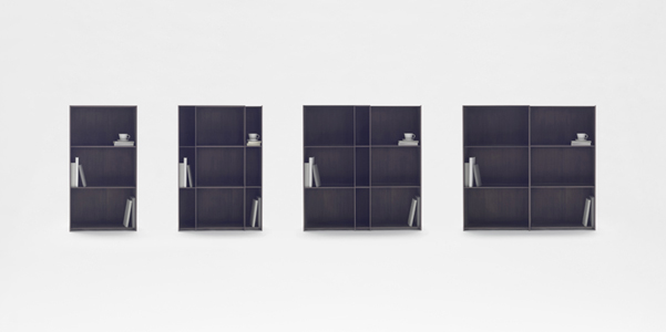 nest shelf nendo