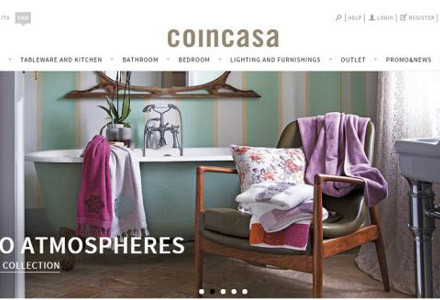nuovo sito Coincasa