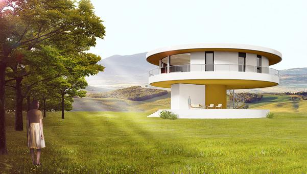 Sun house la casa sostenibile che gira con il sole - Migliore esposizione casa ...