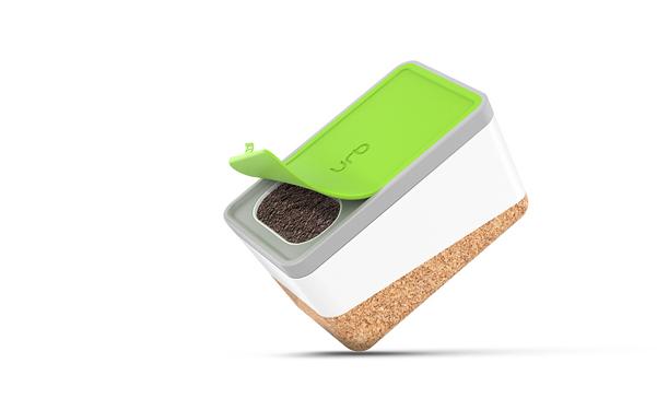 Urb un vaso che contiene una compostiera for Compostiera ikea