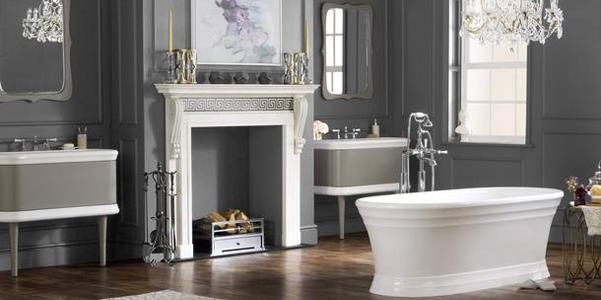 Le vasche di lusso di victoria albert - Bagni di lusso moderni ...