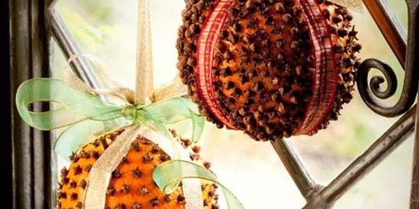 decorazioni natalizie agrumi